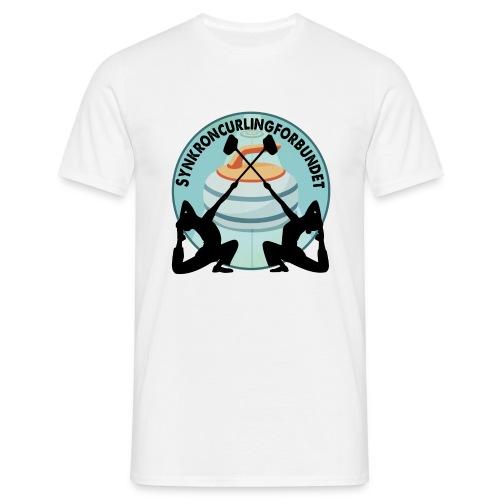 synkronkurling gammel - T-skjorte for menn