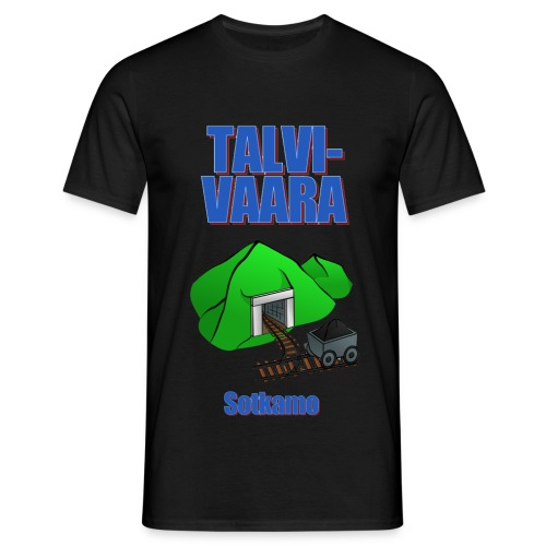 Talvivaara2 png - Men's T-Shirt