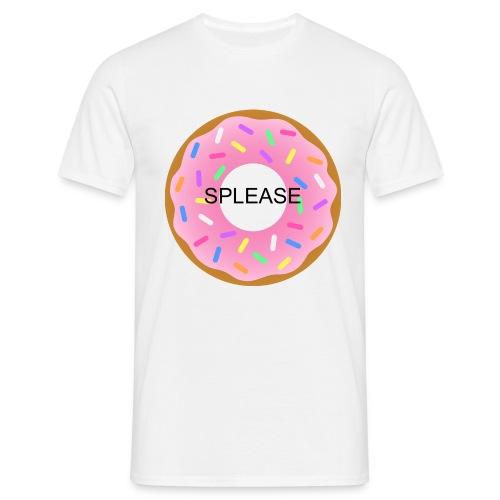 SPLEASE LOGO - T-shirt herr