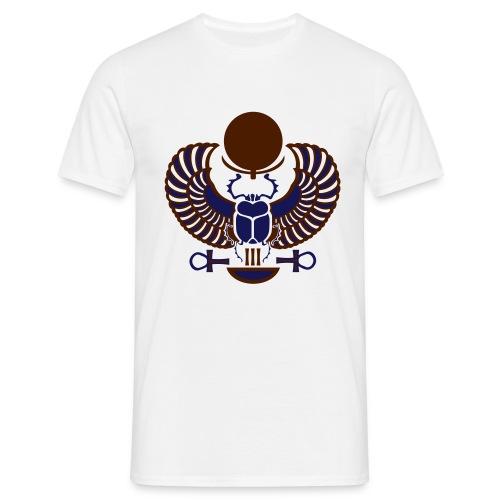 Geflügelter Skarabäus - Männer T-Shirt