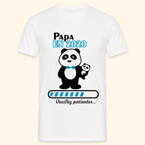 papa en 2020 - T-shirt Homme