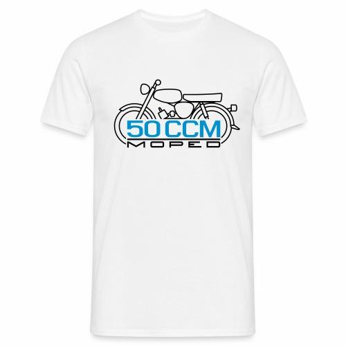 Scooter S50 50 ccm emblem - Men's T-Shirt