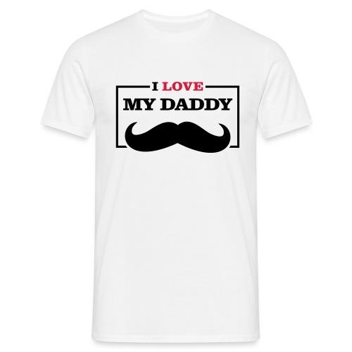 LOVE DADDY - Maglietta da uomo