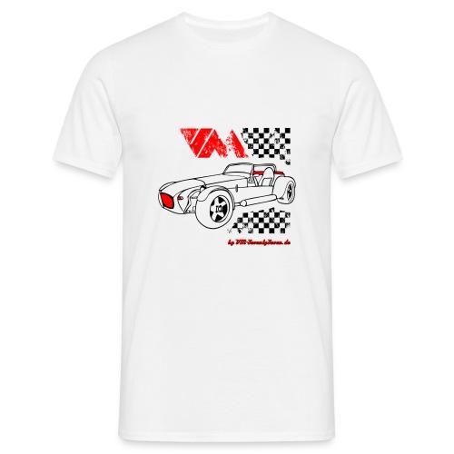 77 vm schwarz - Männer T-Shirt