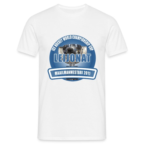 icehockeyworldchampionshipcup2011 - Miesten t-paita