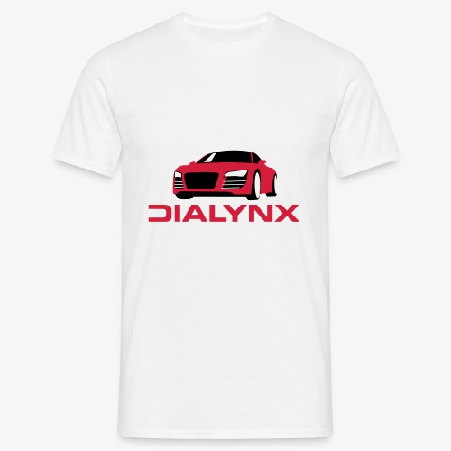 Dialynx Logo - Men's T-Shirt