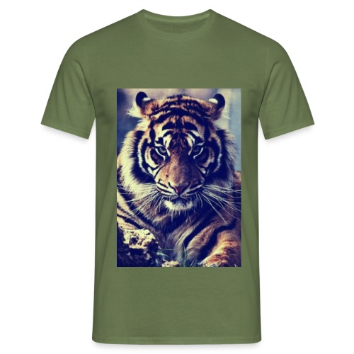 TijgerSerieus jpg - Mannen T-shirt