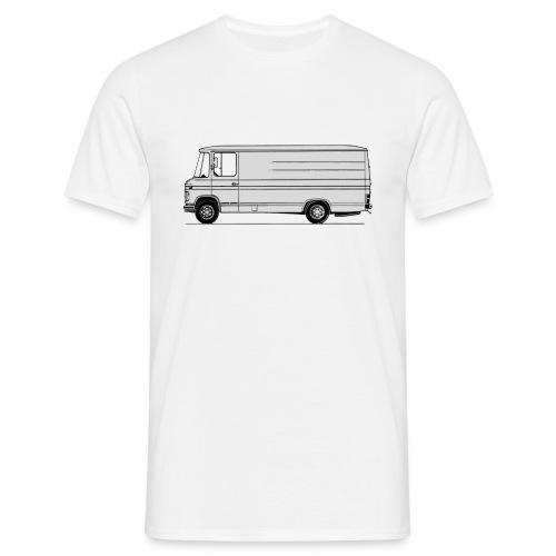 508 lang laag - Mannen T-shirt