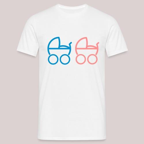Baby boy Kinderwagen baby buggy - Männer T-Shirt
