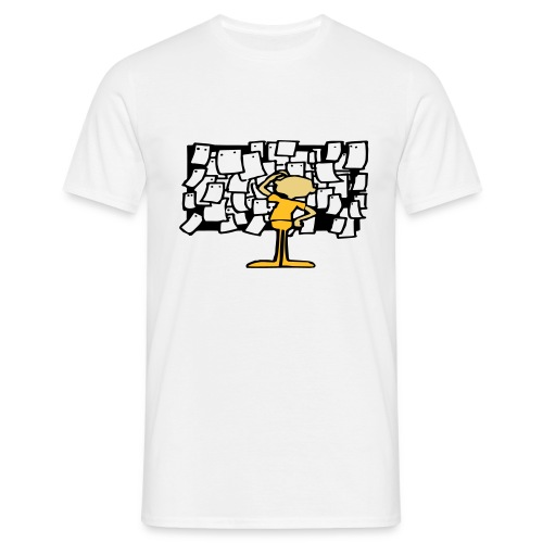 anslagstavla - T-shirt herr