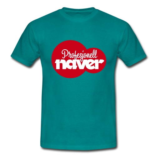 Provesjonell naver (fra Det norske plagg) - T-skjorte for menn