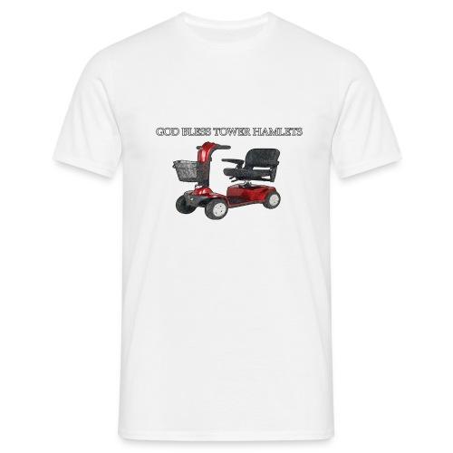 god bless tower hamlets - Men's T-Shirt