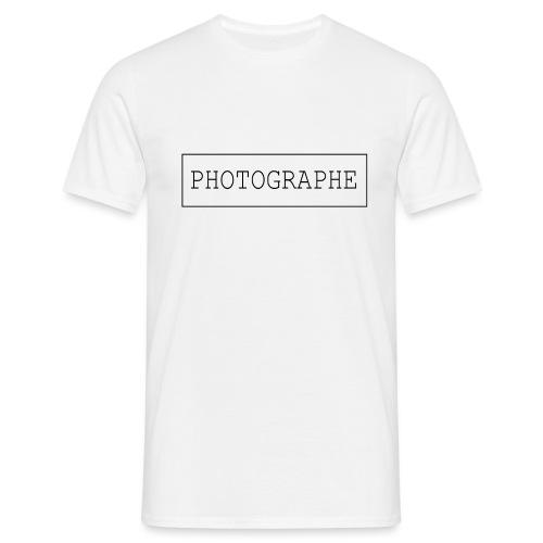 PHOTOGRAPHE - T-shirt Homme