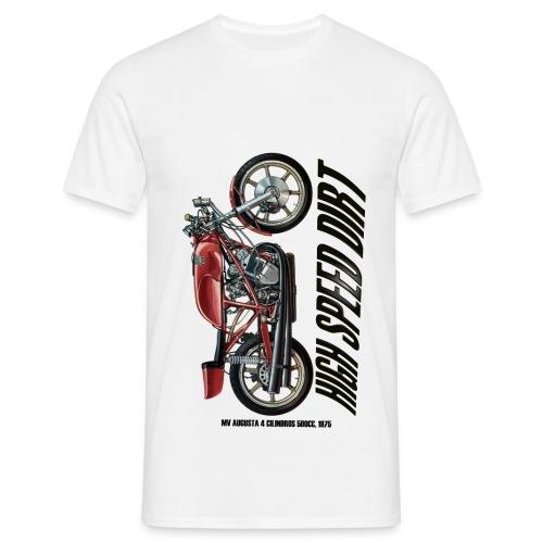 mv augusta 500cc copia - Camiseta hombre