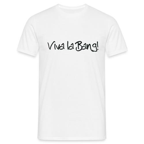 vivalabang schriftzug schwarz - Männer T-Shirt