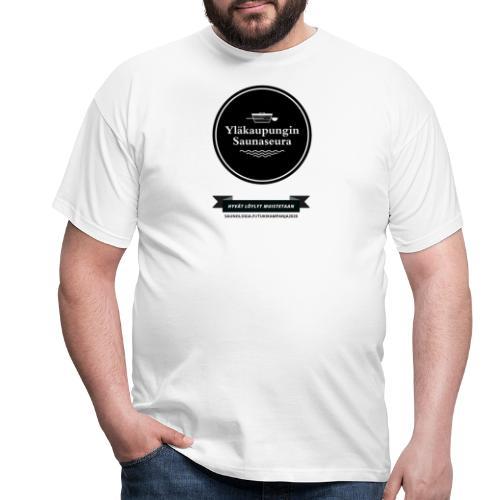 Hakalan sauna, Yläkaupungin saunaseura - Valkoinen - Miesten t-paita