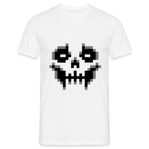 pixel-skull - Men's T-Shirt