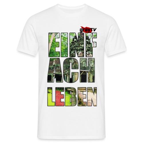 FERTIG SHIRT MIT LOGO png - Männer T-Shirt