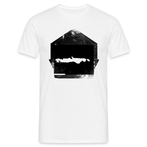 mask bw - Men's T-Shirt