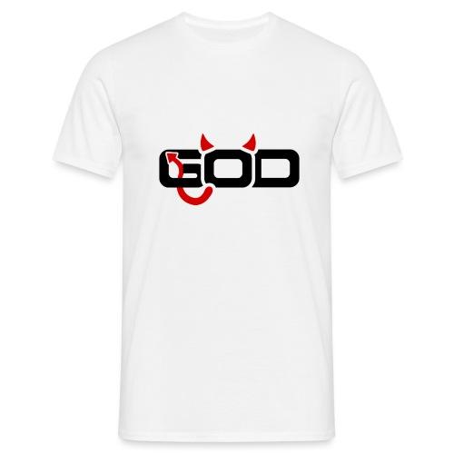 GOD/DEVIL - Mannen T-shirt