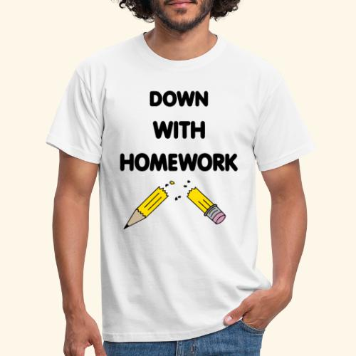 Down With Homework - T-shirt Homme