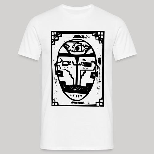 face - Männer T-Shirt