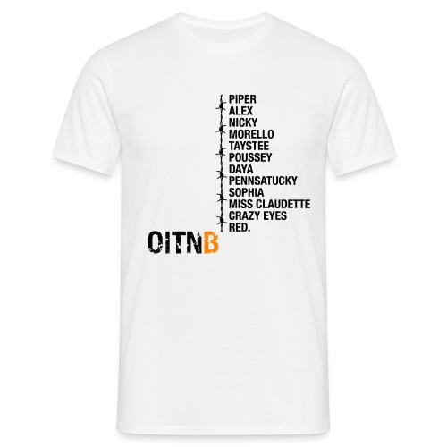 oitnbpersonajes - Men's T-Shirt