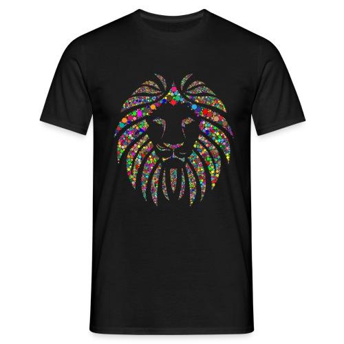 Ausdruck des Löwen - Männer T-Shirt