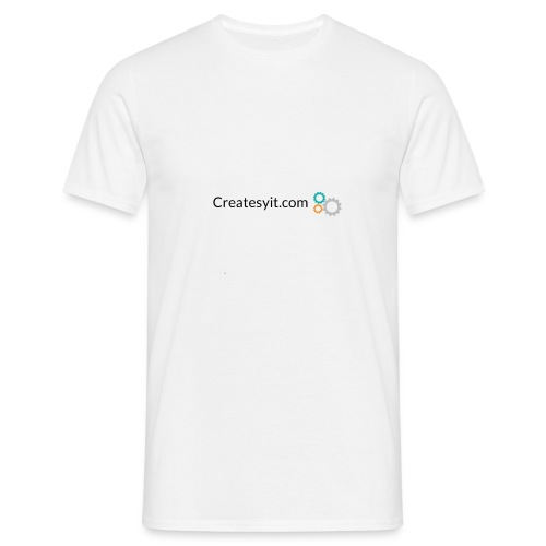 createsyit.com logo - Herre-T-shirt