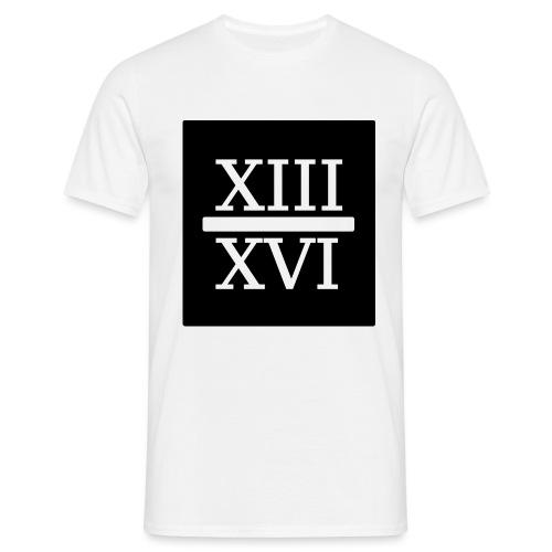 RÖMISCH AUF schwarz png - Männer T-Shirt