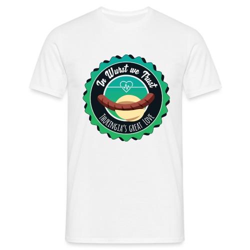In Wurst we Trust - Männer T-Shirt