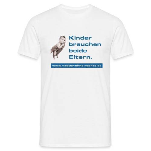 T Shirt KinderbrauchenbeideEltern DRUCK png - Männer T-Shirt