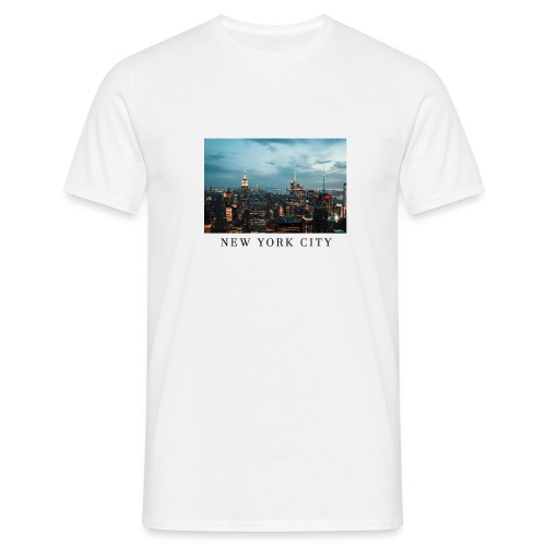 NEW YORK CITY, new york, new york photo, big city - Men's T-Shirt