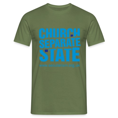 nssshirtchurchstate - Men's T-Shirt