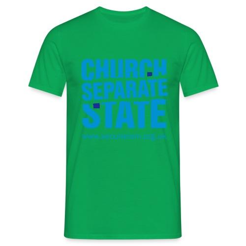 nssshirtchurchstate - Men's T-Shirt