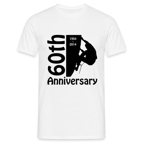 60th front climber - Men's T-Shirt