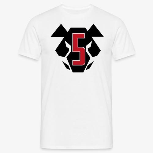 EO5-pighead-black - Miesten t-paita