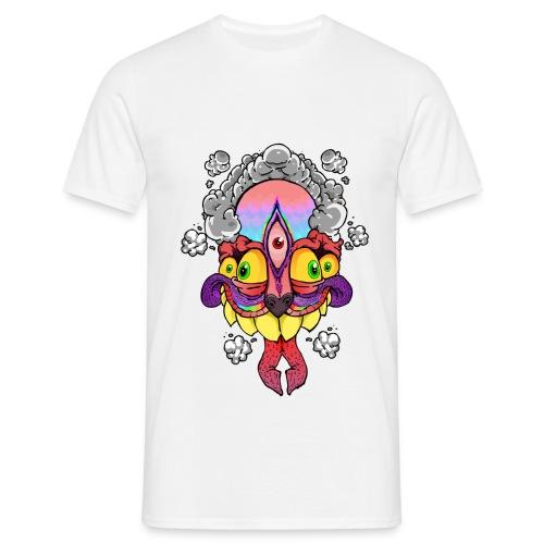 206194 peanutbutterclawk high flyin t shirt desig - Mannen T-shirt