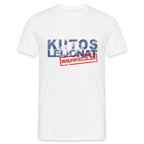 kiitos-leijonat-2019 - Miesten t-paita