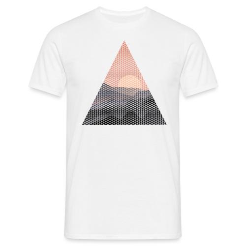 Dots Sundowner - Männer T-Shirt