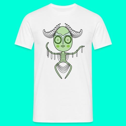 Harry grön - T-shirt herr
