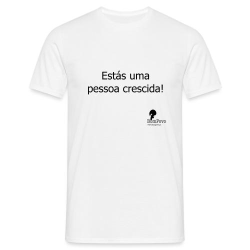 2estasumapessoacrescida - Men's T-Shirt