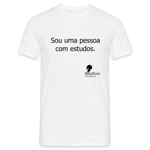 soumapessoacomestudos - Men's T-Shirt