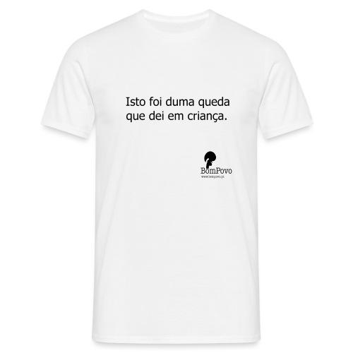 queda em criança - Men's T-Shirt