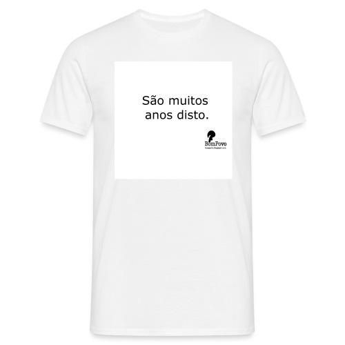bompovo saomuitosanosdisto - Men's T-Shirt
