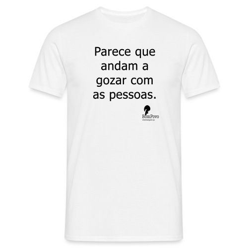 parecequeandamagozarcomaspessoas - Men's T-Shirt