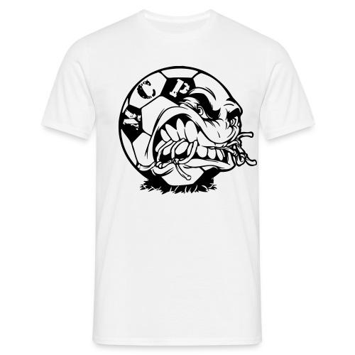fussball vektor - Männer T-Shirt