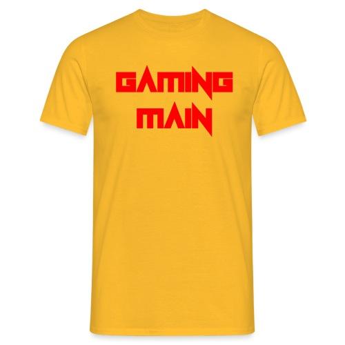 Gaming Main - Männer T-Shirt