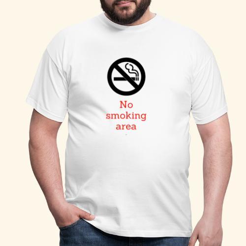 nie pal - Koszulka męska