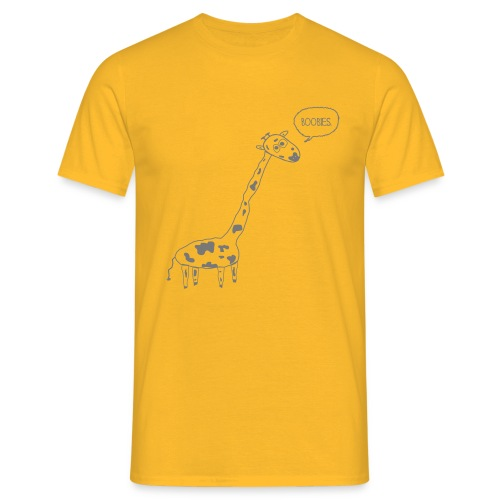Naughty Giraffe - Men's T-Shirt